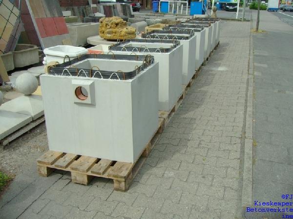 pumpensch chte von fj kieskemper betonstein. Black Bedroom Furniture Sets. Home Design Ideas